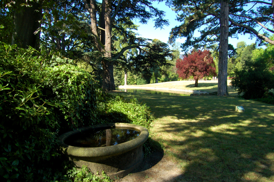 Parc de saint cloud for Jardin trocadero
